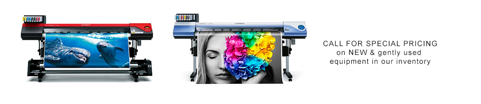Roland, Mimaki, HP, Epson & Mutoh Printers & media by NuSign